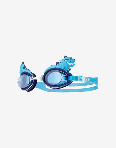 Kids Blue Dino Goggles#color_blue