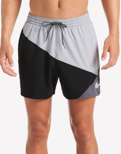 "Nike Jack Knife Logo 5""  Swim Trunk#color_grey"