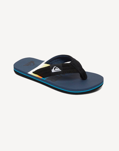 Quiksilver Boy's Molokai Layback Sandal#color_black