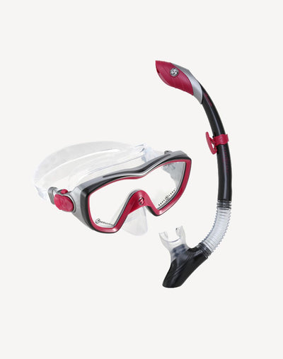Aqua Lung Bonita Snorkel Mask Combo#color_pink