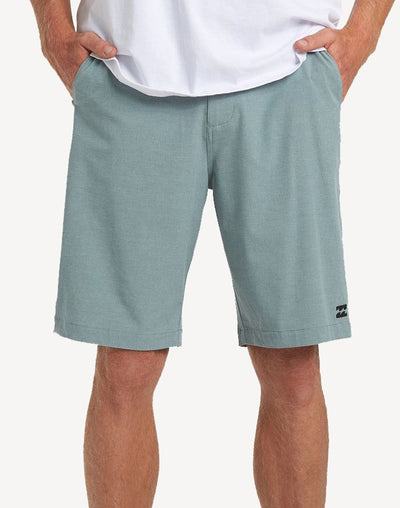 "Billabong Men's Crossfire X 19""  Walkshort#color_green"