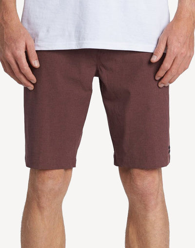 "Billabong Men's Crossfire X 21""  Walkshort#color_red"