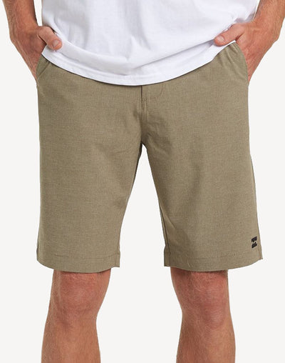 "Billabong Men's Crossfire X 21""  Walkshort#color_tan"