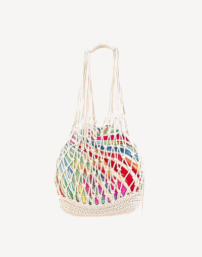 Sun'N'Sand Cotton Rope Shoulder Bag#color_neutral