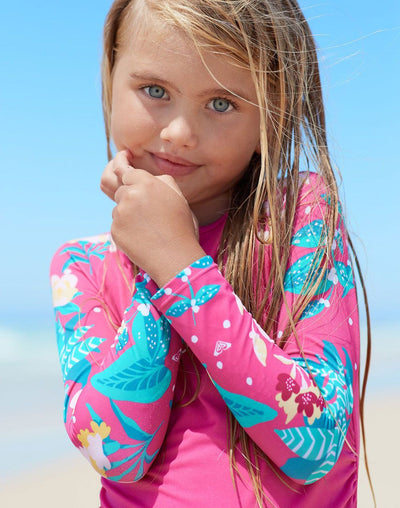 Roxy Girl's Magical Sea Long Sleeve Set#color_pink