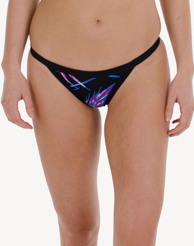 Hurley Quick Dry Koko Surf Bikini Bottom#color_black