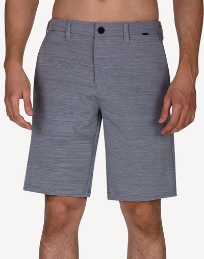 "Hurley Hurley Men's Cutback Dri-Fit 21""  Walkshort#color_grey"