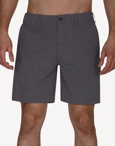 "Hurley Men's Phantom 18""  Walkshort Hybrid#color_grey"