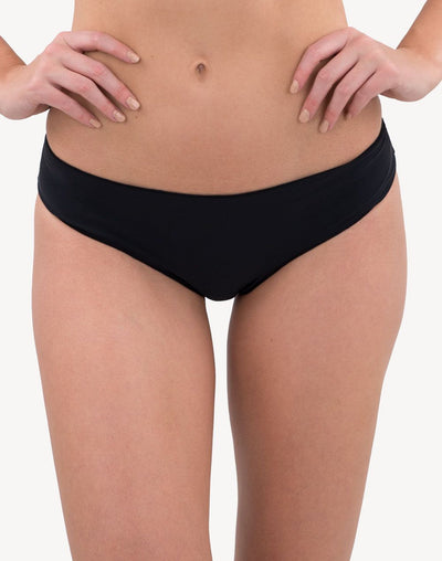 Inara Shine Cheeky Bikini Bottom#color_black