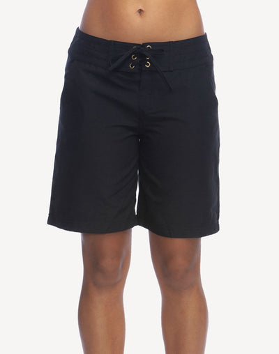 "LaBlanca Women's All Aboard 9""  Boardshort#color_black"
