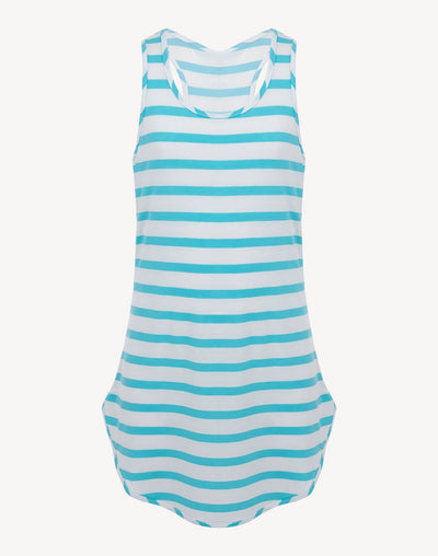 Mandarine & Co Girl's Tunic Tank Cover Up#color_white