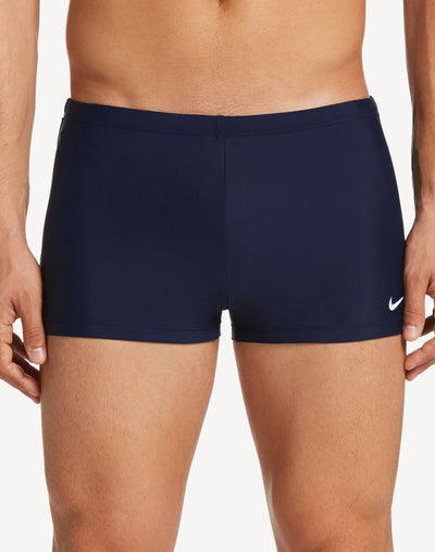 Nike Solid Poly Blend Square Leg#color_navy
