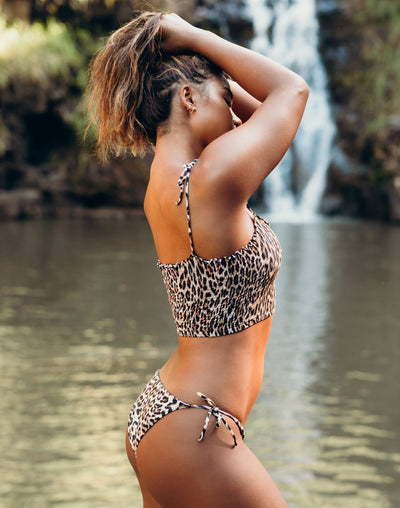 Peixoto Wild One Toni Latin Tieside Bikini Bottom#color_black