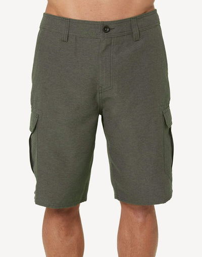 "O'Neill Men's Ranger Cargo 21""  Hybrid Walkshort#color_grey"