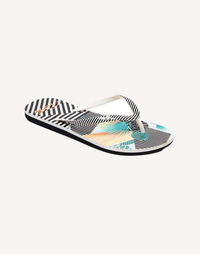 Roxy Women's Portofino II Stripe Sandal#color_black