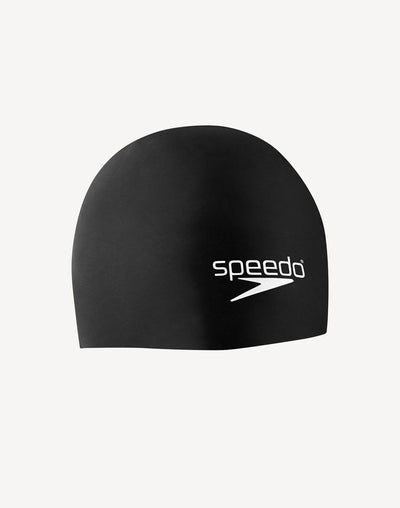 Speedo Elastomeric Swim Cap#color_black
