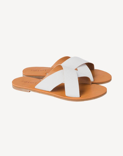 Ripcurl Women's Blueys Slide Sandal#color_white