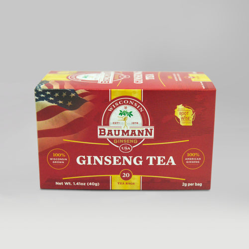 Baumann ginseng tea bag