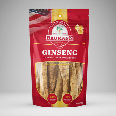 Baumann ginseng long roots