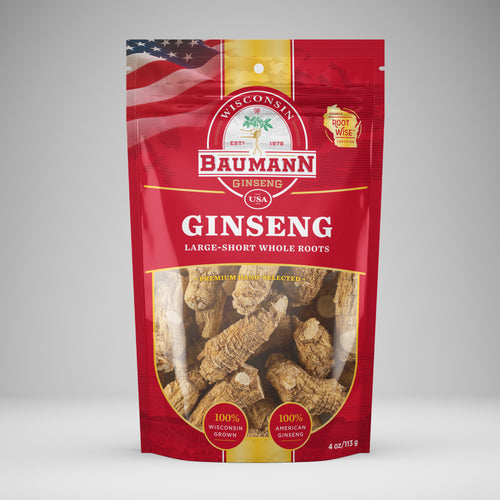 Baumann ginseng small roots