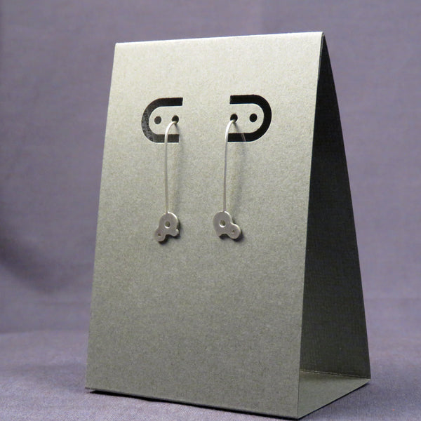 Bubble Earrings Small Silver