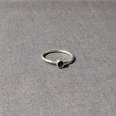 Iolite Stacking Ring, Size 6