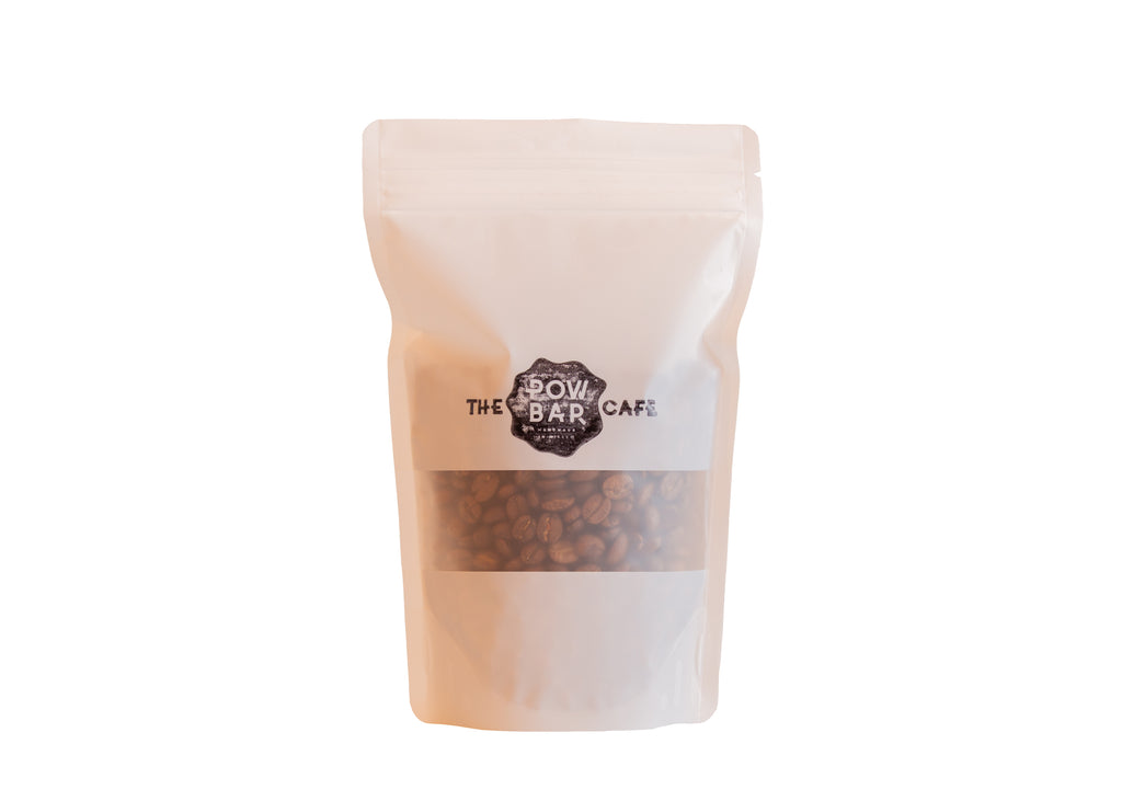 The POW BAR blend coffee beans