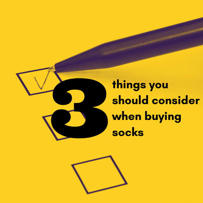 3 things you should consider when buying socks