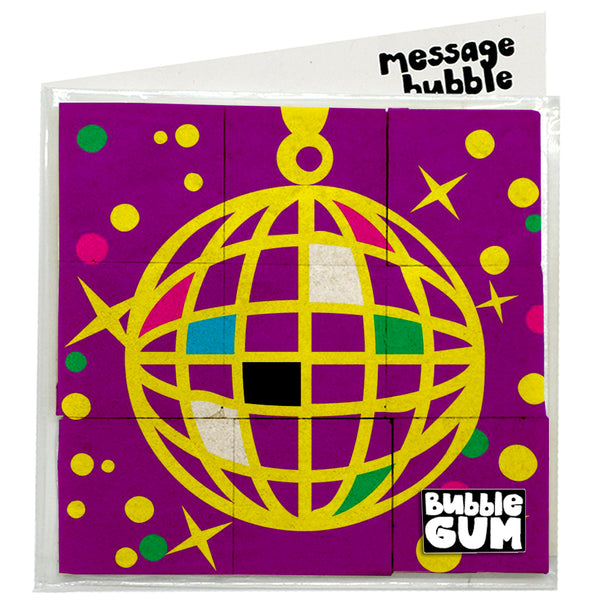 disco gum ball