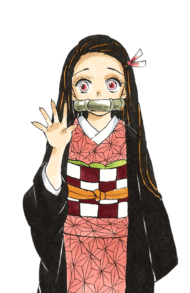 Nezuko dans le manga Demon Slayer