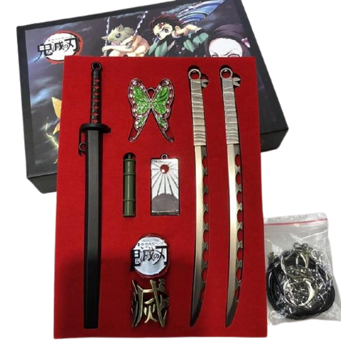 Coffret Cadeau Katana Tanjiro Inosuke | Demon Slayer