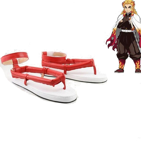 Cosplay Demon Slayer Chaussures Rengoku