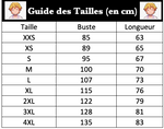 Guide des tailles sweats Tanjiro
