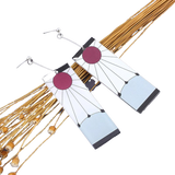 Boucles d'Oreilles Tanjiro | Demon Slayer | Zenitsu Shop