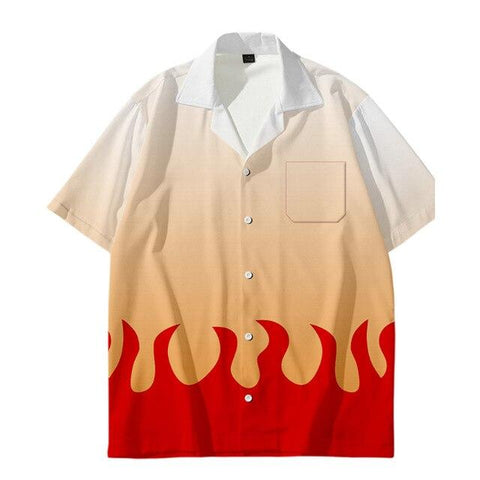 Chemise Demon Slayer Rengoku | Zenitsu Shop
