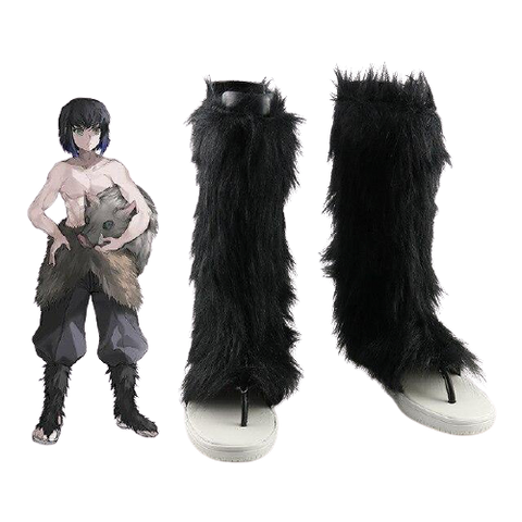Cosplay Demon Slayer Chaussures Inosuke