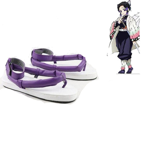Cosplay Demon Slayer Chaussures Shinobu Kocho