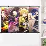 Poster Demon Slayer Pourfendeurs de Démons | Zenitsu Shop