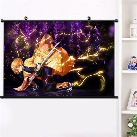 Poster Demon Slayer Souffle du Tonnerre | Zenitsu Shop