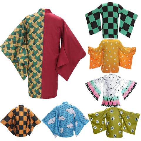 Cosplay Demon Slayer Yukata