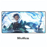 Tapis de Souris Demon Slayer Souffle de l'Eau Dimensions