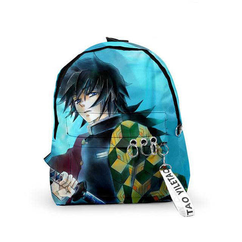 Sac-à-dos Demon Slayer Giyuu le Pilier de l'Eau | Zenitsu Shop