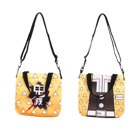 Sac Demon Slayer Zenitsu Bandoulière | Zenitsu Shop