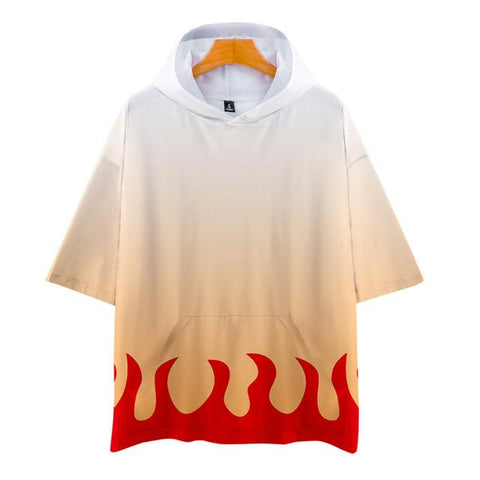 T-shirt Demon Slayer Rengoku Capuche | Zenitsu Shop