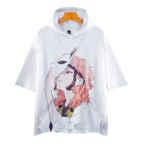 T-shirt Demon Slayer Sabito Capuche | Zenitsu Shop