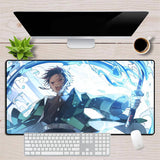 Tapis de Souris Demon Slayer Souffle de l'Eau | Zenitsu Shop