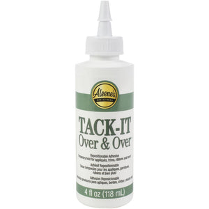 Tack It Over & Over Liquid Glue 4oz - Goma Reposicionable