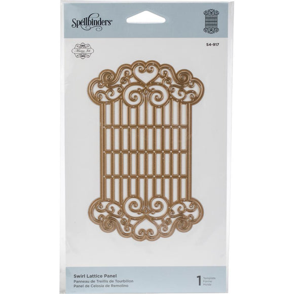 Troquel - Swirl Lattice Panel - Sepllbinders