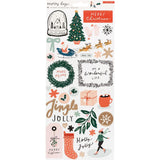 Stickers - Merry Days - Crate Paper