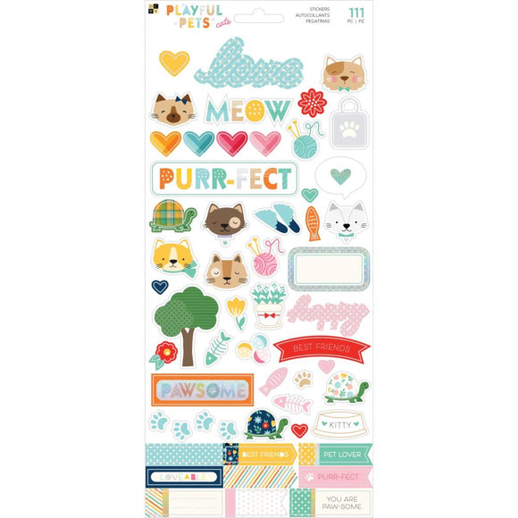 Stickers - Playful Pets - Cats